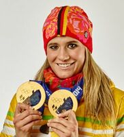 Olympiasiegerin und Rednerin Natalie Geisenberger über Olympia