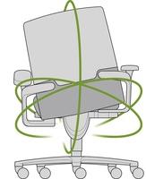 Bewegung im Sitzen mit dem Wilkhahn ON bei hoell.de