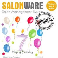 Happy Birthday SALONWARE: 7 Jahre Kassensystem für Friseure aus der Cloud