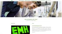 Klar, anwenderfreundlich und übersichtlich: EMH mit neuer Website