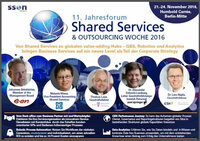 11. Jahresforum Shared Services & Outsourcing Woche 2016