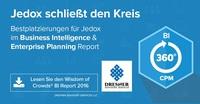 Bestplatzierungen für Jedox in Wisdom of Crowds Business Intelligence-Marktstudie 2016