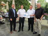 Kiwanis unterstützt Jugendfeuerwehr Bad Krozingen