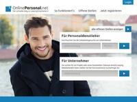 OnlinePersonal.net - Der schnelle Weg zu Leasingmitarbeitern