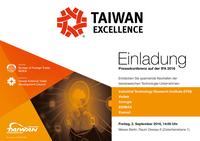Pressekonferenz taiwanesischer ICT-Marken auf der IFA