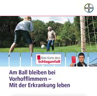 """Neue Broschüre """"Am Ball bleiben bei Vorhofflimmern - Mit der Erkrankung leben"""""""