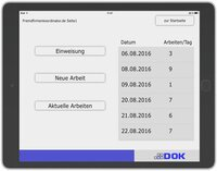DOK GmbH entwickelt App zur Koordination von Fremdfirmen