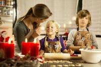 Utensilien für gelungene Weihnachtsbäckerei