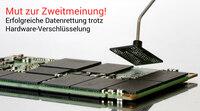 DATARECOVERY®: Datenretter gelingt SSD Wiederherstellung trotz negativer Prognose