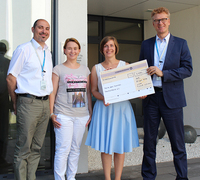 Arvato Financial Solutions spendet 7000 Euro an terre des hommes