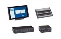 Raum- und AV-Technik einfach mit ControlBridge von Black Box integrieren und  per Touchscreen steuern