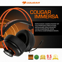 NEU bei Caseking: Das Cougar Immersa Gaming-Headset!