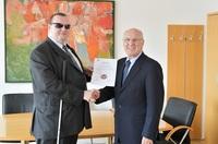 Auszeichnung an den Verein freiraum-europa verliehen