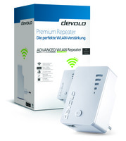 Premium Powerline von devolo für den Fachhandel: Neuer ADVANCED WLAN Repeater ac und Update für den Powerline ADVANCED WLAN