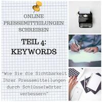 Warum Keywords für Online-Pressemitteilungen so wichtig sind