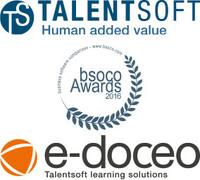 Talentsoft und e-doceo auf Medaillenkurs