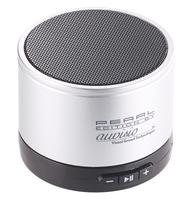 Mobiler Bluetooth-Aktivlautsprecher im Metallgehäuse, 2 W, BT 2.1