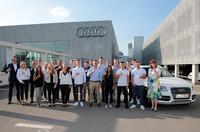 Großer Lehrlingsempfang: Audi Stuttgart begrüßt 16 neue Auszubildende