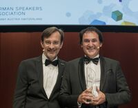 Dr. Roman F. Szeliga in die Hall of Fame der German Speakers Association aufgenommen; Anne M. Schüller erhält den Trainerbuchpreis 2016