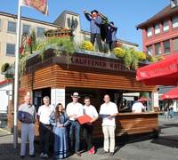 Heilbronner Weindorf: Prämierung der schönsten Stände