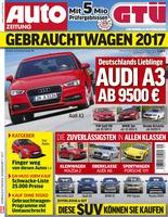 GTÜ-Gebrauchtwagenreport 2017: Deutsche Autos sind die klaren Sieger