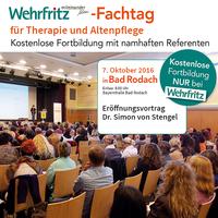Fortbildung für Therapie und Altenpflege mit Comedy-Rahmenprogramm (Martin Fromme)