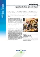 Lebensmittelsicherheit im Überblick:  METTLER TOLEDO stellt neues White Paper vor