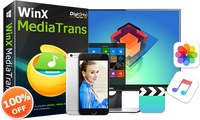Digiartys WinX MediaTrans 3.0 überrascht iOS-10-Nutzer mit E-Book- und Klingeltonmanager