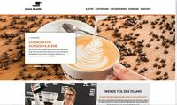 Neuer Internetauftritt von chicco di caffe