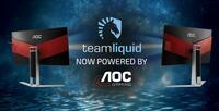 AOC ist neuer Sponsor der Top-Esport-Organisation Team Liquid