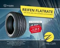ALZURA/Z Tyre bietet All-inklusive Reifen-Flatrate - Winterreifen abonnieren statt kaufen