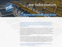 Myalgische Enzephalomyelitis: Informationen über ME