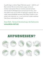 Green Chefs: Belohnung für leere Teller am Buffet