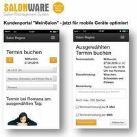 """Web-App """"MeinSalon"""": Friseurtermine spontan online buchen"""