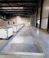 Produktion und Montage einer 50 Meter Auffangwanne für wassergefährdende Stoffe