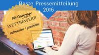 showimage Wettbewerb Beste Pressemitteilung 2016 - mitmachen und gewinnen