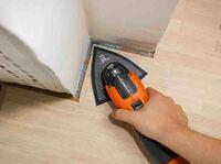 Anwendertipp FEIN: Effektiver Holzschliff mit oszillierenden Elektrowerkzeugen