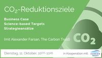 WEBINAR: CO2-Reduktionsziele