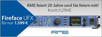 Große RME Trade-In-Aktion: Altes Audio-Interface eintauschen und Fireface UFX zum Sonderpreis von 1.599,00 Euro erwerben