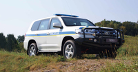 WELP-Armouring präsentiert sein neuestes gepanzertes Spezial-Polizeifahrzeug auf der Sobra 2016