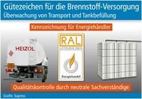 Gütezeichen für die Brennstoff-Versorgung