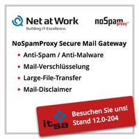 Neue Version von Secure-Mail-Lösung NoSpamProxy auf der it-sa