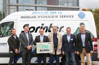 Mobiler Hydraulik-Service 24h
