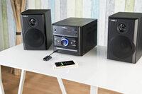 Bluetooth-4.0-Receiver, Audio-Empfänger mit Akku und aptX-Technologie