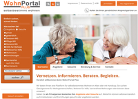 Zielgruppengenaue Werbung ohne Streuverluste für Alten- und Pflegeheime auf WohnPortal Plus