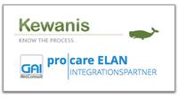 GAI NetConsult schließt Integrationspartnerschaft für pro|care ELAN mit Kewanis
