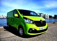 Renault TRAFIC: Komfortabel, sicher, sparsam