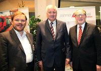 Ministerpräsident Horst Seehofer besucht zahner bäumel communication