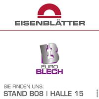 EuroBLECH2016: Zeit für Neues in der Oberflächenbearbeitung der Gerd Eisenblätter GmbH