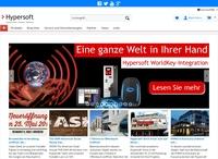 Neue Web-Präsenz von Hypersoft vorgestellt